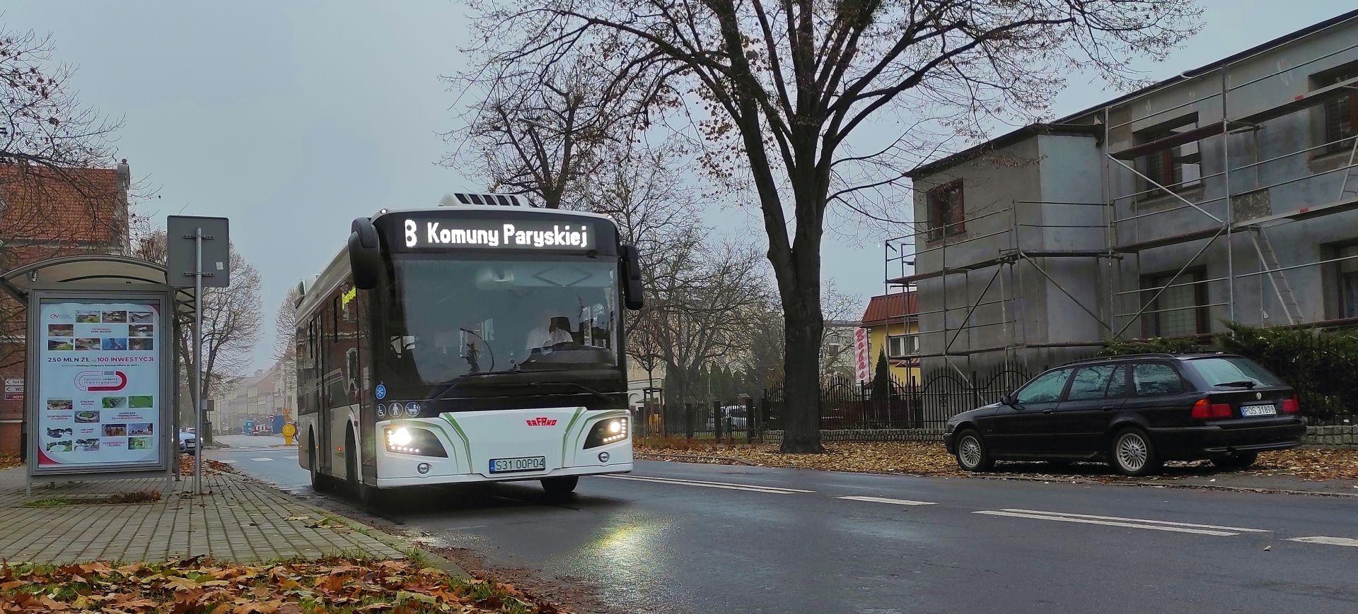 Nowy autobus na testach